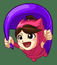 Shinobi Games Line Stickers! sticker #233021