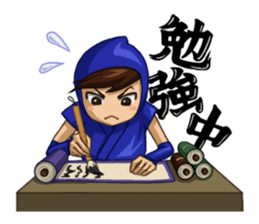 Shinobi Games Line Stickers! sticker #233024