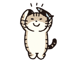 Pouch the cat sticker #233615