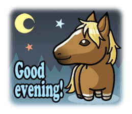 Puchi Horses sticker #233642