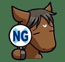 Puchi Horses sticker #233646