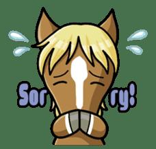Puchi Horses sticker #233648