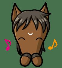 Puchi Horses sticker #233649