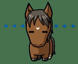 Puchi Horses sticker #233657