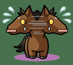 Puchi Horses sticker #233659