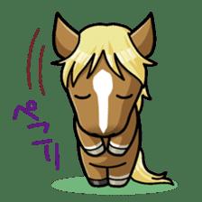 Puchi Horses sticker #233662