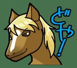 Puchi Horses sticker #233671