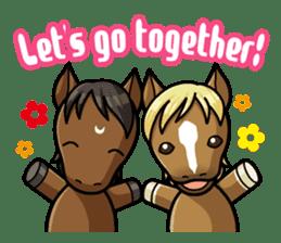 Puchi Horses sticker #233673