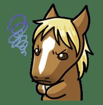 Puchi Horses sticker #233674