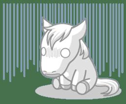 Puchi Horses sticker #233679