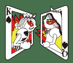 Lover's King&Queen sticker #234121