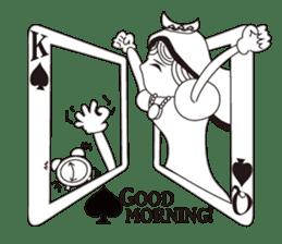 Lover's King&Queen sticker #234122