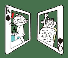 Lover's King&Queen sticker #234124