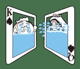 Lover's King&Queen sticker #234125