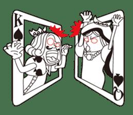 Lover's King&Queen sticker #234126