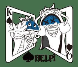 Lover's King&Queen sticker #234128
