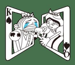 Lover's King&Queen sticker #234129