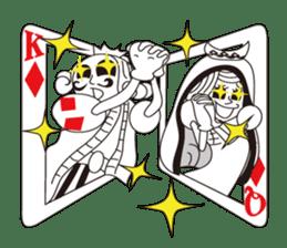 Lover's King&Queen sticker #234131