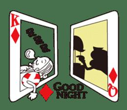 Lover's King&Queen sticker #234132