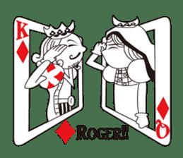 Lover's King&Queen sticker #234133