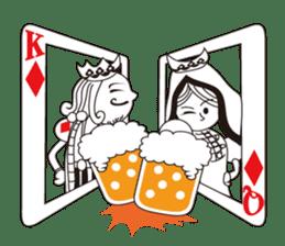 Lover's King&Queen sticker #234134