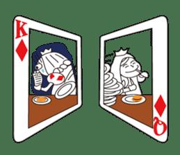 Lover's King&Queen sticker #234137