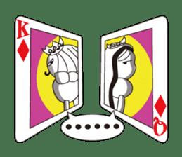 Lover's King&Queen sticker #234139