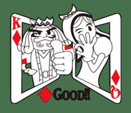 Lover's King&Queen sticker #234140