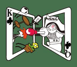 Lover's King&Queen sticker #234142