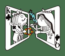 Lover's King&Queen sticker #234145