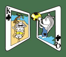 Lover's King&Queen sticker #234146
