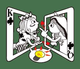 Lover's King&Queen sticker #234147