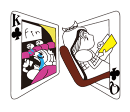 Lover's King&Queen sticker #234148