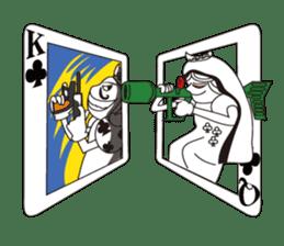 Lover's King&Queen sticker #234150