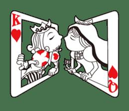 Lover's King&Queen sticker #234151