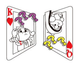Lover's King&Queen sticker #234155
