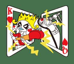 Lover's King&Queen sticker #234156