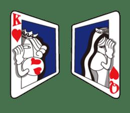Lover's King&Queen sticker #234160