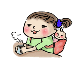 housewife AND baby sticker #235008
