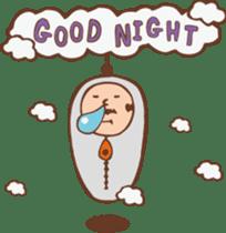 Ojisan from Mr. Mobile - battery saver - sticker #235042