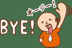 Ojisan from Mr. Mobile - battery saver - sticker #235043