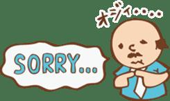Ojisan from Mr. Mobile - battery saver - sticker #235044