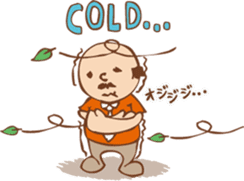 Ojisan from Mr. Mobile - battery saver - sticker #235048
