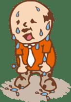 Ojisan from Mr. Mobile - battery saver - sticker #235053