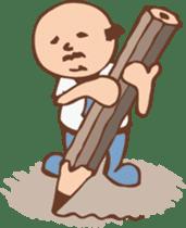 Ojisan from Mr. Mobile - battery saver - sticker #235061