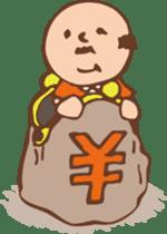 Ojisan from Mr. Mobile - battery saver - sticker #235062
