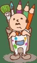 Ojisan from Mr. Mobile - battery saver - sticker #235063