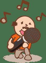 Ojisan from Mr. Mobile - battery saver - sticker #235067