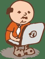 Ojisan from Mr. Mobile - battery saver - sticker #235068