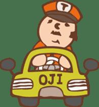 Ojisan from Mr. Mobile - battery saver - sticker #235069